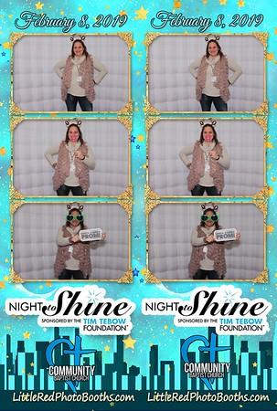 2019 A Night to Shine Community Baptist Church Maylene