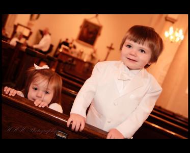 Taft family Baptism
