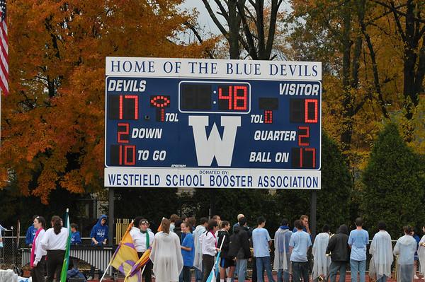 Westfield vs. Montgomery Football 10-24-09