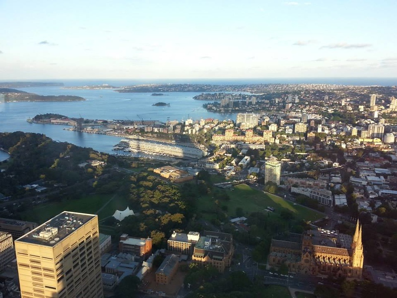 view of Sydney next to waterfront