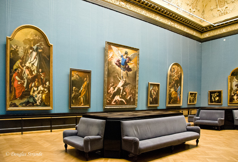 A gallery in the Art History Museum, Vienna