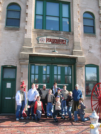 2008 December Fire Fighter Museum & Station 2 Tour