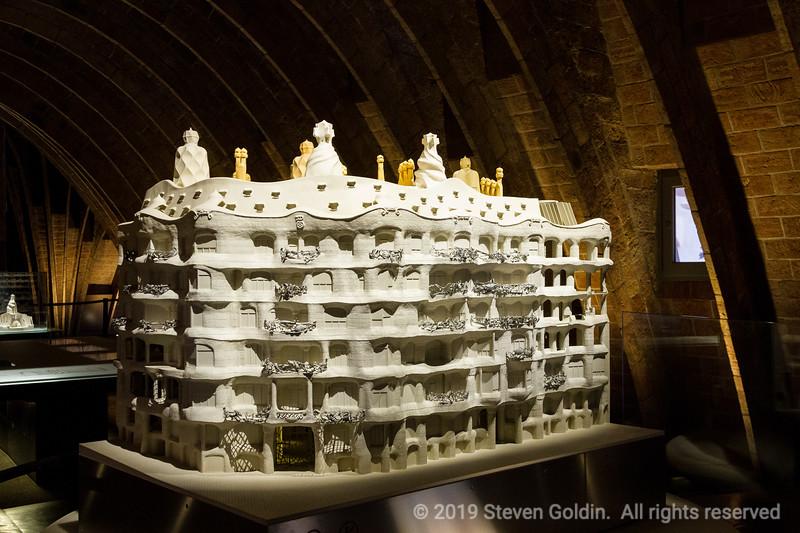 La Pedrera - Apartment building designed by Antonio Gaudi