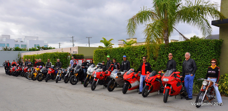 """New Years Day """"Red Snake"""" Ride 2011, South Florida"""