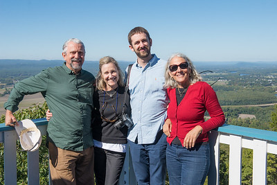 Pili, Pablo & Pedro Visit New England - Oct. 2016