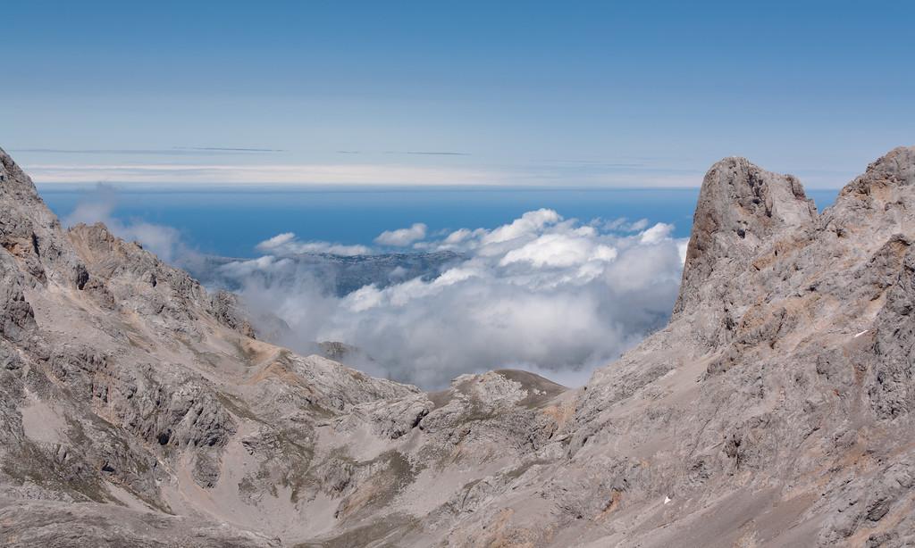 Picos de Europa y el mar