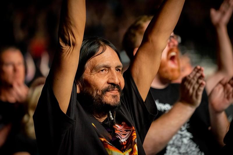 Fans say goodbye to Judas Priest.