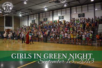 Chapelle Girls in Green