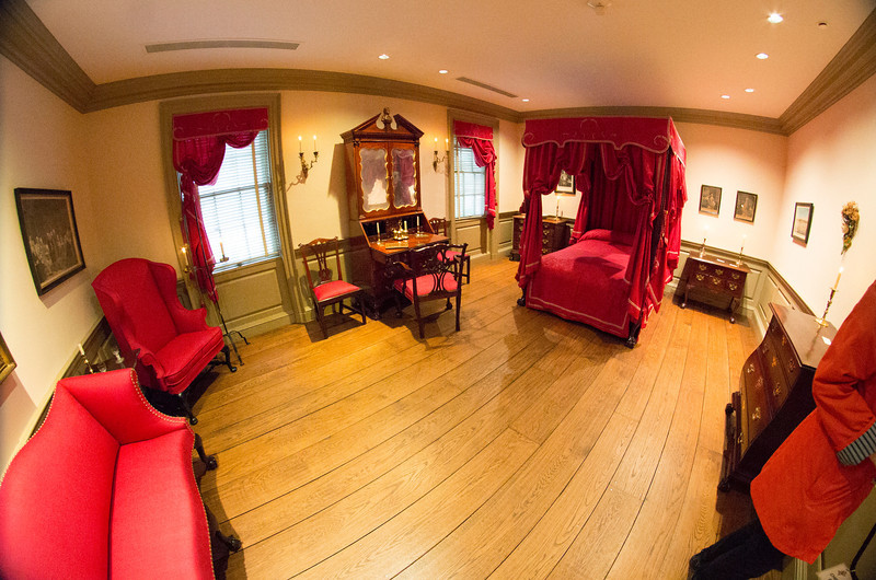 Chippendale room without visitors