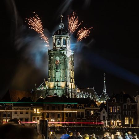 Vuurwerk Deventer 1250 jaar