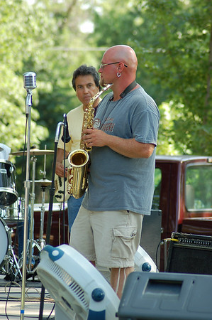 Music in the Park in Cherryvale