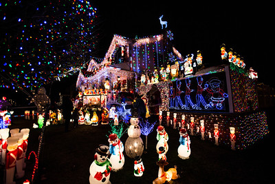 Kevin Lynch Christmas Display