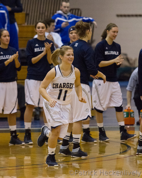 2012-11-29 Hillsdale College Women's Basketball vs. Northwood