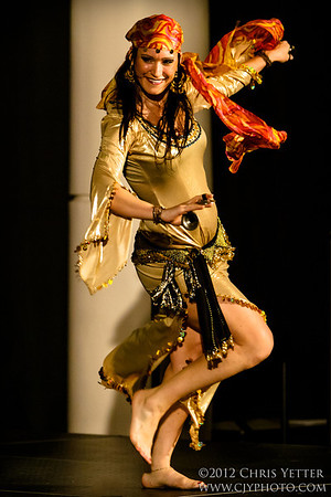 """1001 Nights"" - Belly Dance @ Exhibition Hall 2012"
