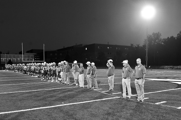 Marquette Football Senior Night 10/13/17