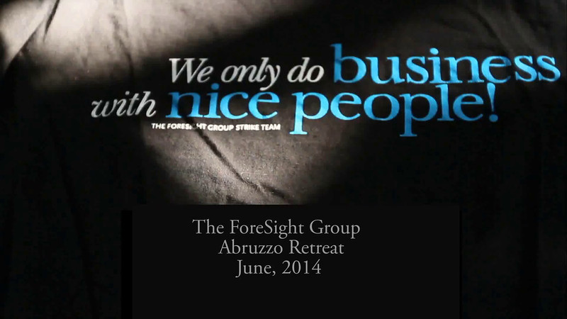 The ForeSight Group Abruzzo Retreat June, 2014