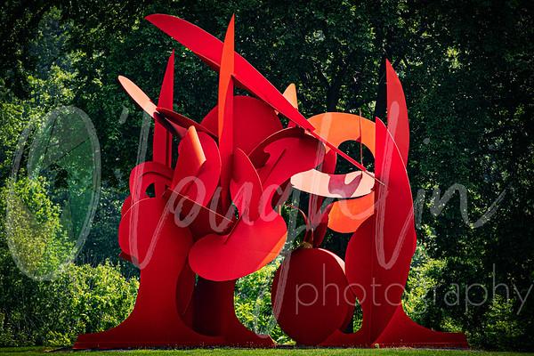 street art and sculptures