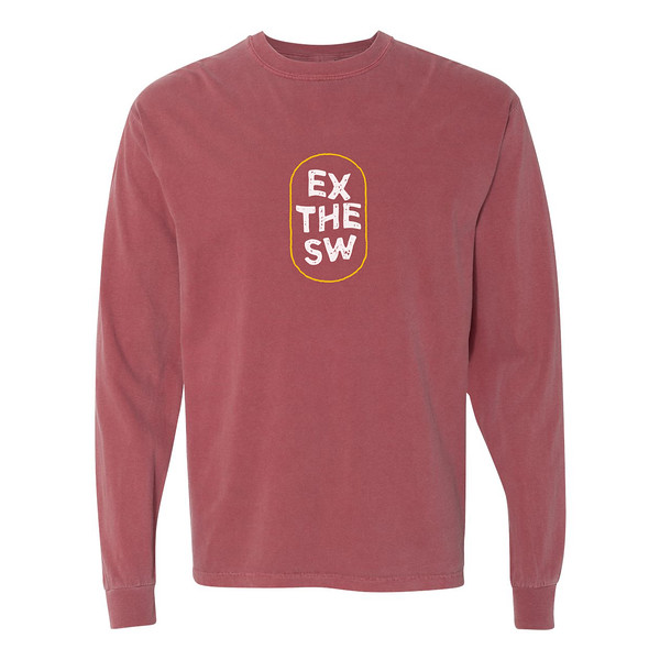 Organ Mountain Outfitters - Outdoor Apparel - Mens T-Shirt - EX the SW Long Sleeve Tee - Brick.jpg