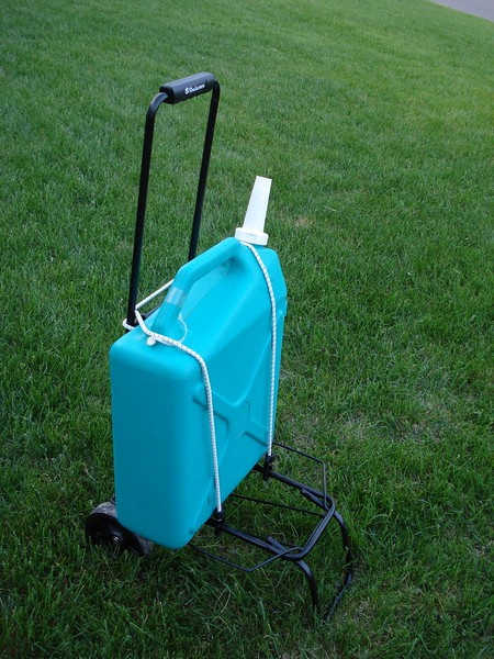 Luggage Cart for Water