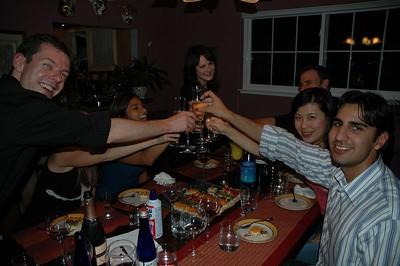 Dinner and Drinks - September 2005