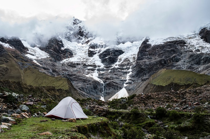 Camping in the mountains- Things to Do in Peru