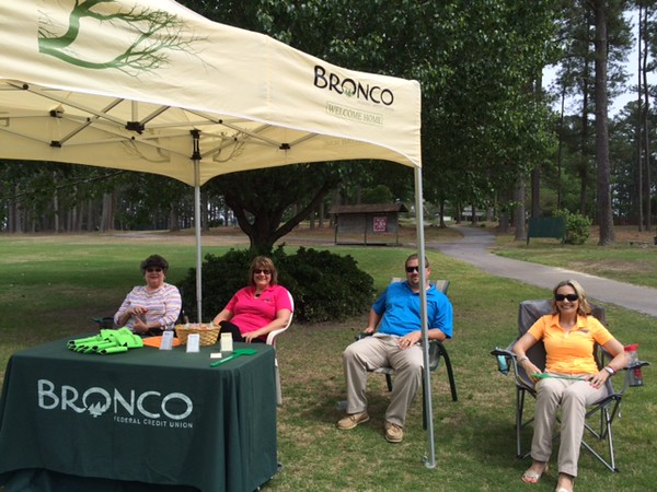 Hole Sponsors - Prime Media Productions & Bronco Federal Credit Union