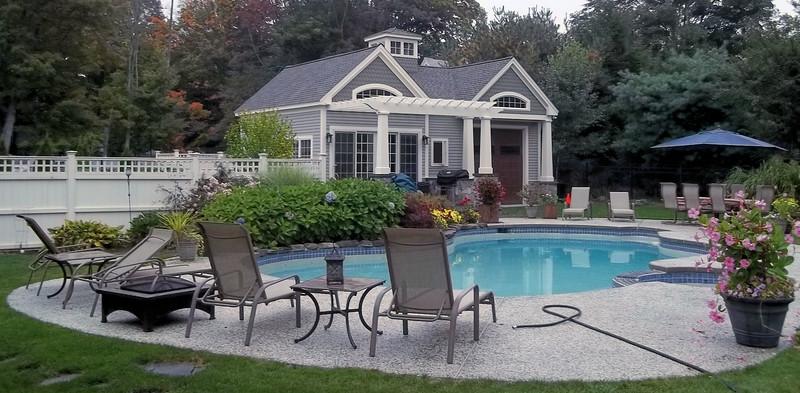 423 - 455583 - Holliston MA - Pool Pergola