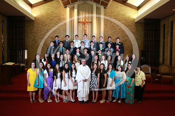St Gregory 2013 8th Grade Graduation Mass