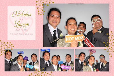 Nick & Lauryn's Wedding (Luxury Photo Pod)