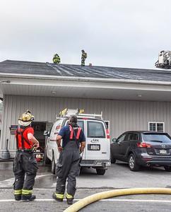 Pulaski structure fire Zirats Auto