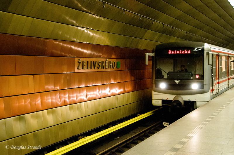 """Prague Metro, our """"Z"""" stop"""