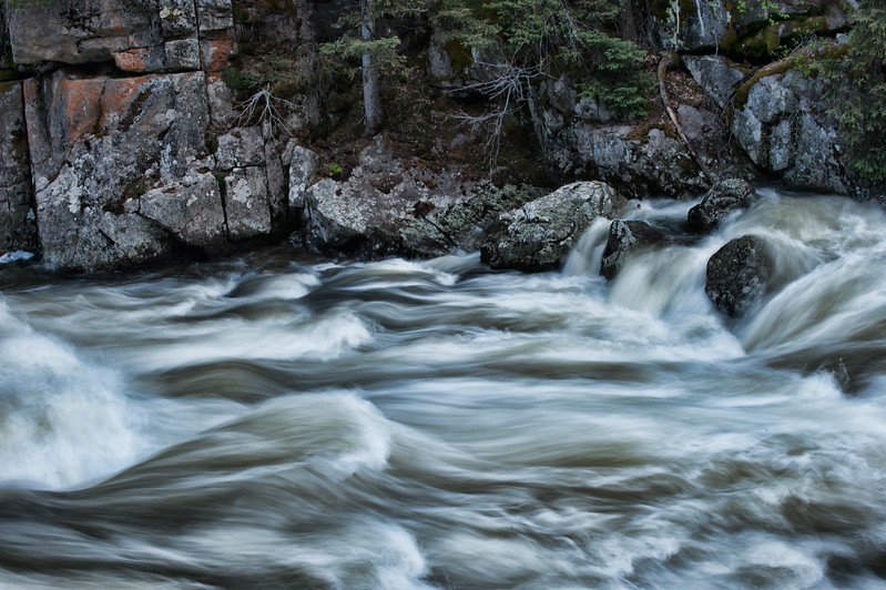 Rushing River Water 004 | Wall Art Resource