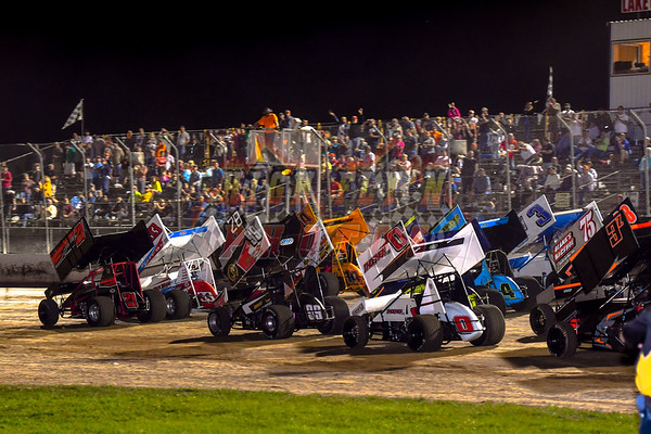 360 WINGED SPRINT CARS