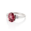 2.17ct Diamond & Spinel 3-Stone Ring 1
