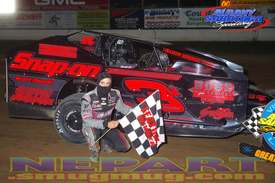 Albany-Saratoga Speedway - 8/14/20 - Mark Brown