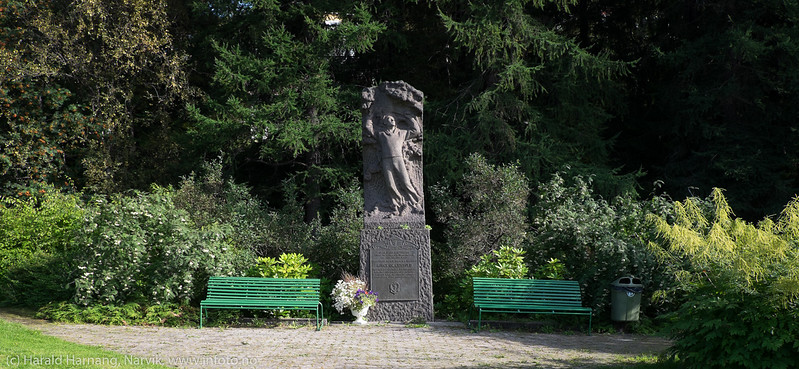 Statue Norge og Eidvold