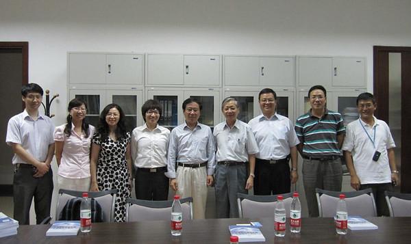 20100916 楊副校長拜訪中國人民大學