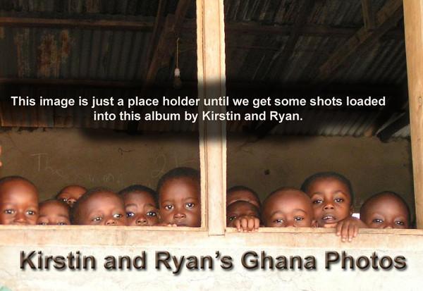 Kirstin and Ryan's Ghana Photos