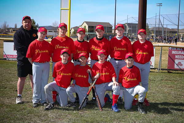 Mustang Baseball 2013
