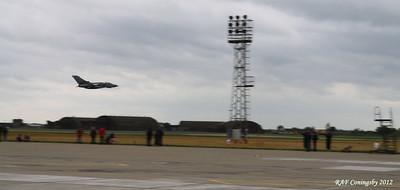 Tornado Low at RAF Coningsby Air Base,  June 2012