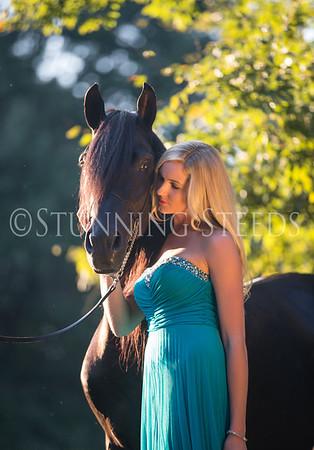 Scarlett & Bucephalus Teal Dress
