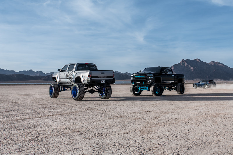 @T_harper96 @Vengeance_tacoma 2005-15 Toyota Tacoma featuring our New 2019 Concave 24x14 Lollipop Blue #GENESIS wrapped in 40x1550x24 @NittoTire-34.jpg
