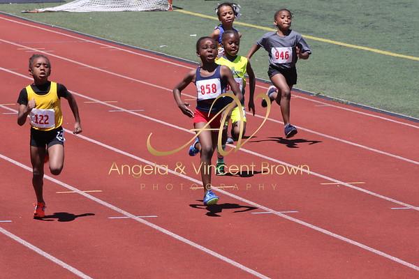 Champs: 8 & Under Girls 100M Trials