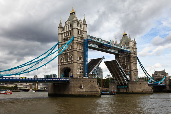 Tower Bridge, London - August, 2010