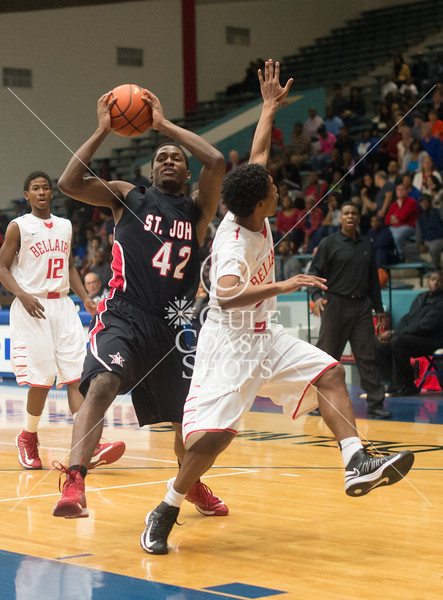 2012-12-22 Basketball Varisty Boys St. John's v Bellaire @ Delmar