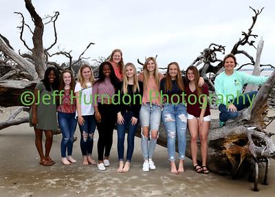 UGHS Tennis at Jekyll Island 3/1 and 3/2/2019