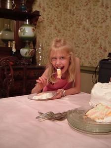 Catherine's 8th Birthday