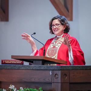 Bishop Anne's Visit