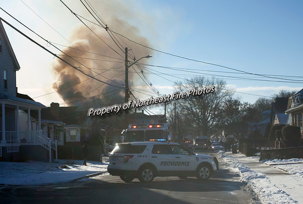 Providence- 2nd Alarm- Enfield Street- 01/18/2018