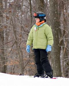 Katie Goes Snowboarding